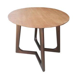 โต๊ะไม้ทรงกลม รหัส TB-04