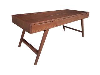 โต๊ะไม้เหลี่ยม มีลิ้นชักใส่ของ