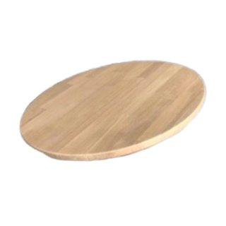ท็อปโต๊ะกลมไม้โอ๊คอัดประสาน TP-02