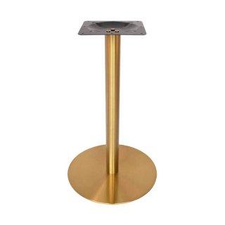 ขาโต๊ะสแตนเลสทรงกลมสีทอง SL 8