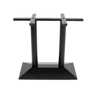 ขาโต๊ะเหล็กคู่ ทรงฐานนูน รหัส SL 14