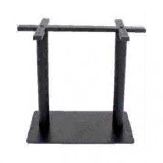 ขาโต๊ะเหล็กคู่ ทรงฐานแบน รหัส SL 15
