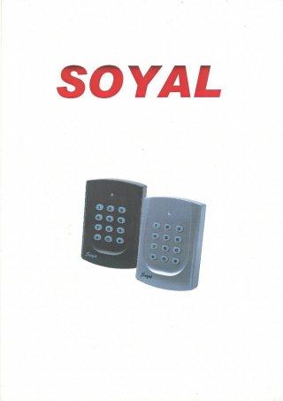 เครื่องสแกนบัตร Soyal