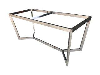 ขาโต๊ะสแตนเลส ทรงเหลี่ยม