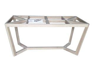 ขาโต๊ะไม้ทรงเหลี่ยม สีอ่อน