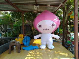 Mascot มาสคอตเป่าลม
