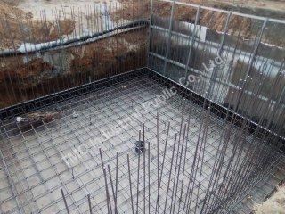 รับงานสร้างถังเก็บน้ำคอนกรีตเสริมเหล็ก