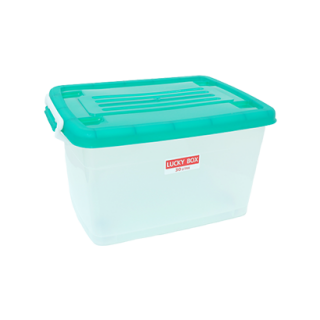 กล่องพลาสติก มีล้อ 30 ลิตร #215TG
