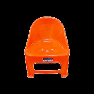 เก้าอี้พลาสติก แพนด้า เกรด A สีส้ม #186AO