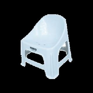 เก้าอี้พลาสติก แพนด้า เกรด A สีขาว #186AW