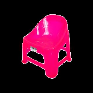 เก้าอี้พลาสติก แพนด้า เกรด A สีชมพู #186TP