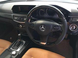 ลายไม้พวงมาลัย BLACK BIRD EYE Mercedes-Benz E200