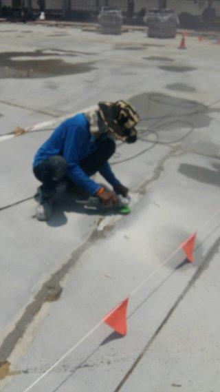 งานซ่อมรอยร้าวคอนกรีต ด้วยวิธี Epoxy Injection