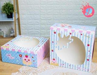 กล่องเค้ก 2 ปอนด์ แคทเค้ก 001
