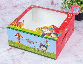 กล่องเค้ก 2 ปอนด์ Coco & Lime 002