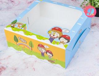 กล่องเค้ก 2 ปอนด์ Coco & Lime 001