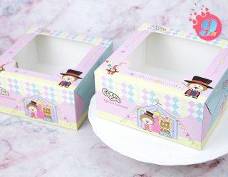 กล่องเค้ก 2 ปอนด์ Coco & Lime 003