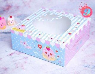 กล่องเค้ก 3 ปอนด์ แคทเค้ก 001