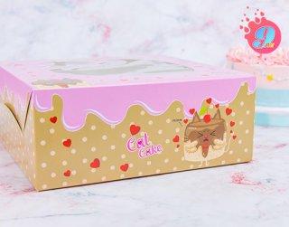 กล่องเค้ก 3 ปอนด์ แคทเค้ก 002