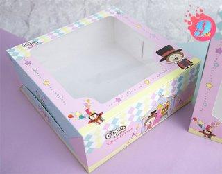 กล่องเค้ก 3 ปอนด์ Coco & Lime 003