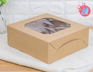 กล่องเค้ก 3 ปอนด์ กระดาษคราฟ