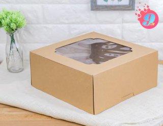 กล่องเค้ก 4 ปอนด์ คราฟ