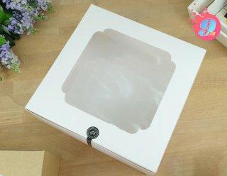 กล่องเค้ก 5 ปอนด์ ขาว
