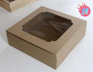 กล่องเค้ก 7 ปอนด์กระดาษคราฟ