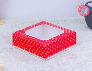 กล่องชิฟฟ่อน จุดแดง