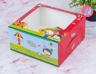 กล่องเค้ก 1 ปอนด์ Coco & Lime 002