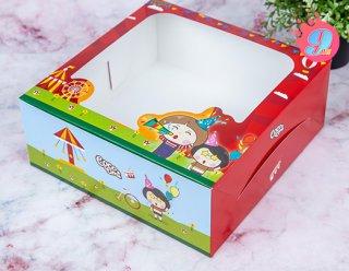 กล่องเค้ก 3 ปอนด์ Coco & Lime 002