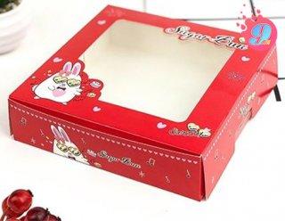กล่องบราวนี่ ลาย Sugarbun 001