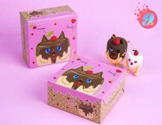 กล่องสแน็คไม่มีหน้าต่าง ลาย Catcake 002