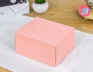 กล่องสแน็ค 14 x 2 x 7.5 ชมพูจุด