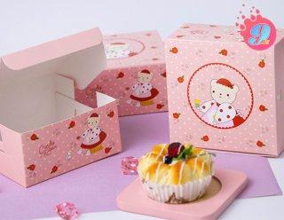 กล่องสแน็ค ลาย Candy Bear & Red Rose