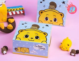 กล่องสแน็คไม่มีหน้าต่าง ลาย Bear Cheese 002