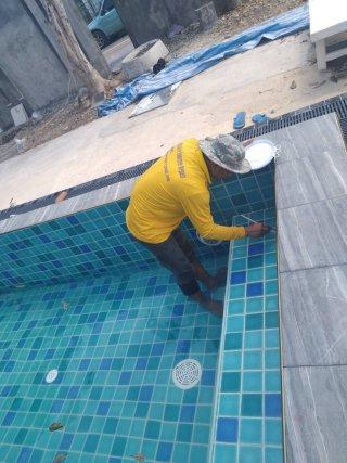 รับงานซ่อมน้ำรั่วซึม Epoxy Seal