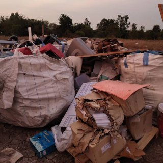 บริการทิ้งขยะขนาดใหญ่-ขนาดเล็ก
