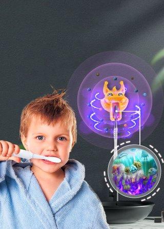 โคมไฟ UV ฆ่าเชื้อโรคแปรงสีฟัน