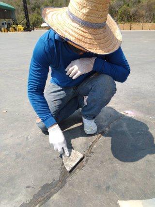 รับซ่อมรอยร้าวคอนกรีต จ.กำแพงเพชร