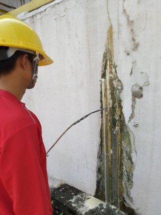 รับซ่อมผนังอาคารรั่วซึม กรุงเทพมหานคร