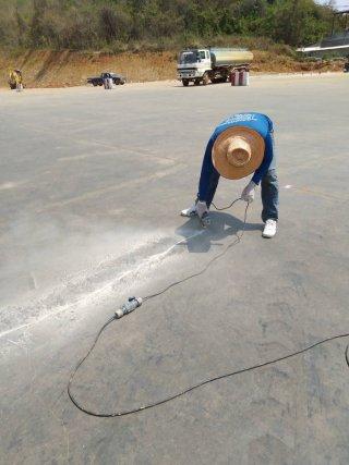 รับซ่อมรอยแตกร้าวพื้นคอนกรีต จังหวัดอุทัยธานี