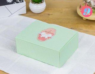 กล่องสแน็คเขียว G 15.5 x 11.5 x 6 ซม.