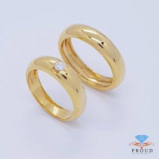แหวนเพชรคู่ Classic Love CDRG 0176