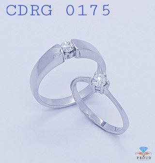แหวนเพชรคู่ Fovever Love CDRG 0175