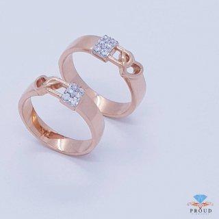 แหวนเพชรคู่ Key of Love CDRG 0174