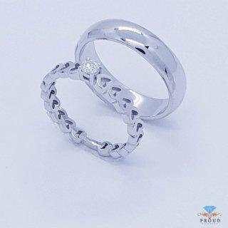 แหวนเพชรคู่ Chanming Love CDRG 0172