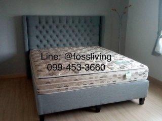 เตียงนอน รุ่น Linda (ผ้ากำมะหยี่)