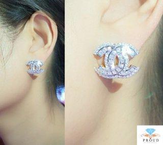 ต่างหู CHANEL รุ่น classic earring
