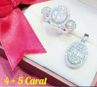 แหวนเพชร Oval Shape Diamond